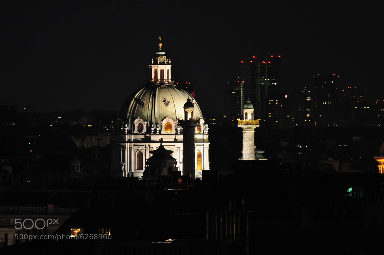 Photograph vienna by night by helmut flatscher on 500px