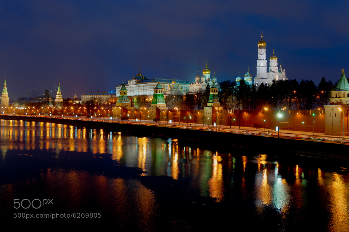 Photograph Moskva river front by Jan Hausding on 500px