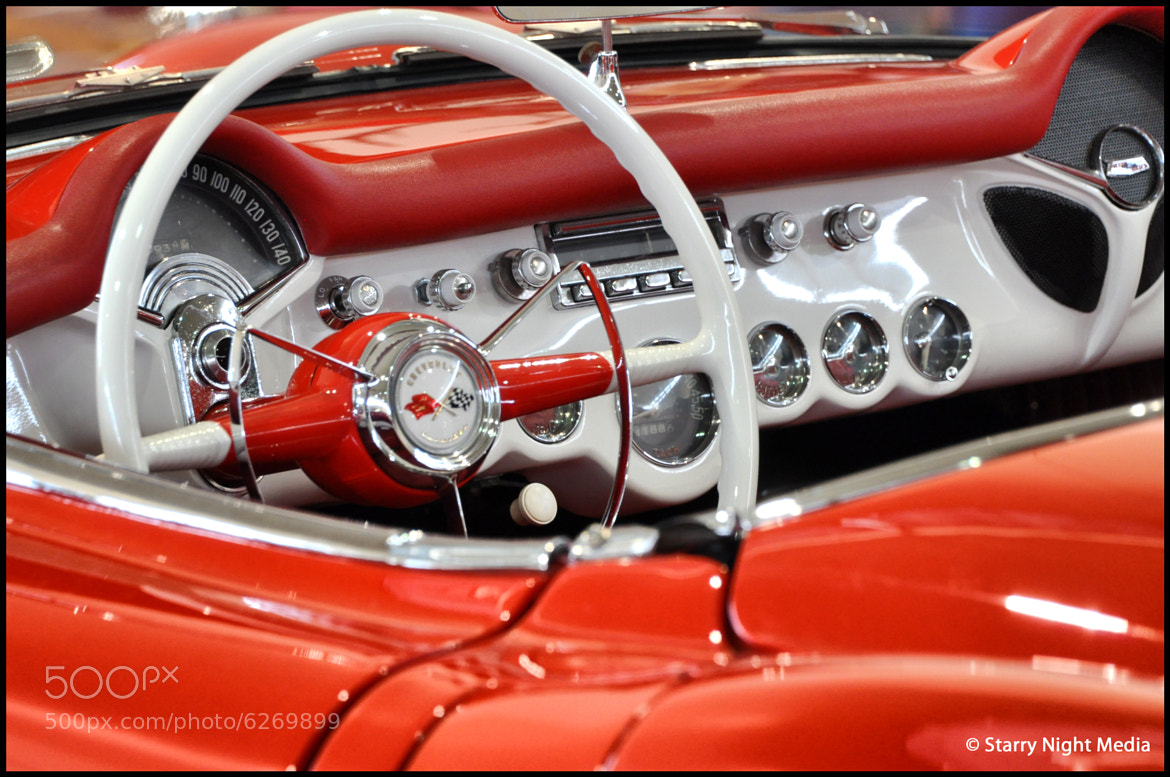 Photograph Red Vette by Chad Estes on 500px
