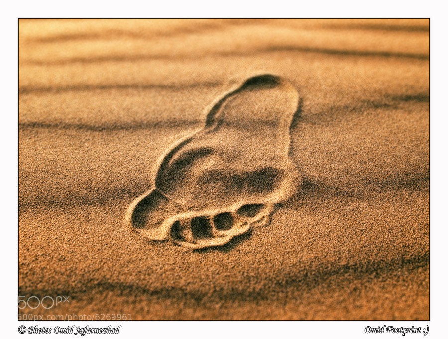 Photograph FootPrint by Omid Jafarnezhad on 500px