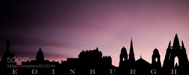 Photograph Edinburgh Panorama Montage by Zain Kapasi on 500px