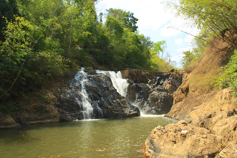 Maliwun Waterfall, Myanmar