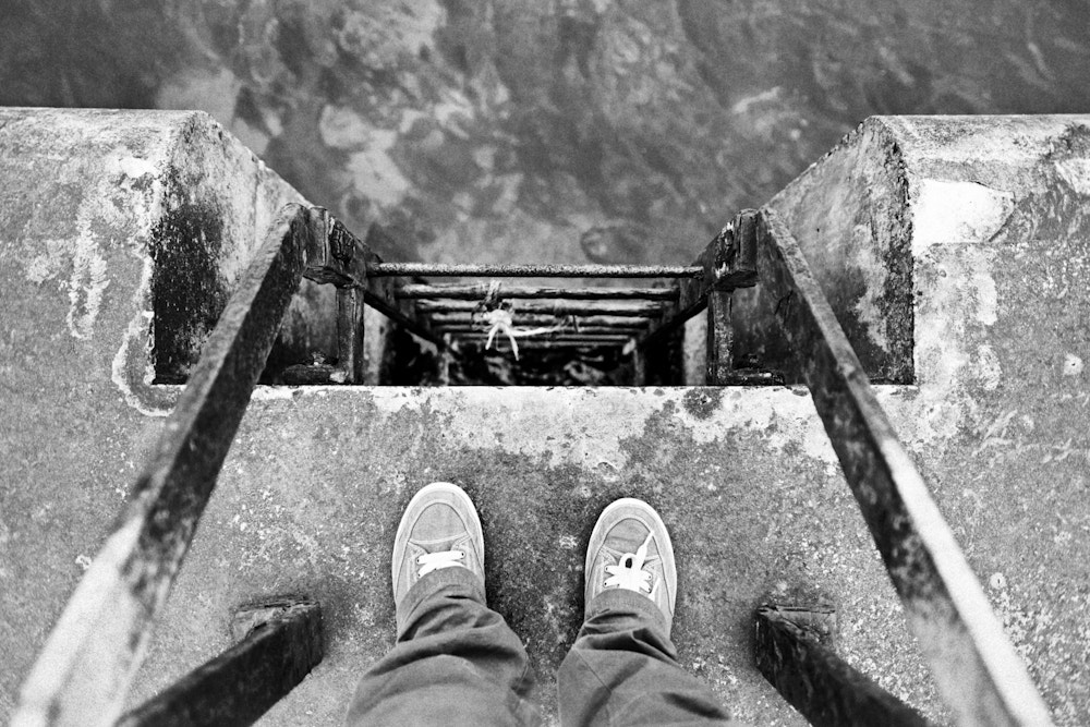 Photograph Feet at the Edge by Stephen Lyons on 500px