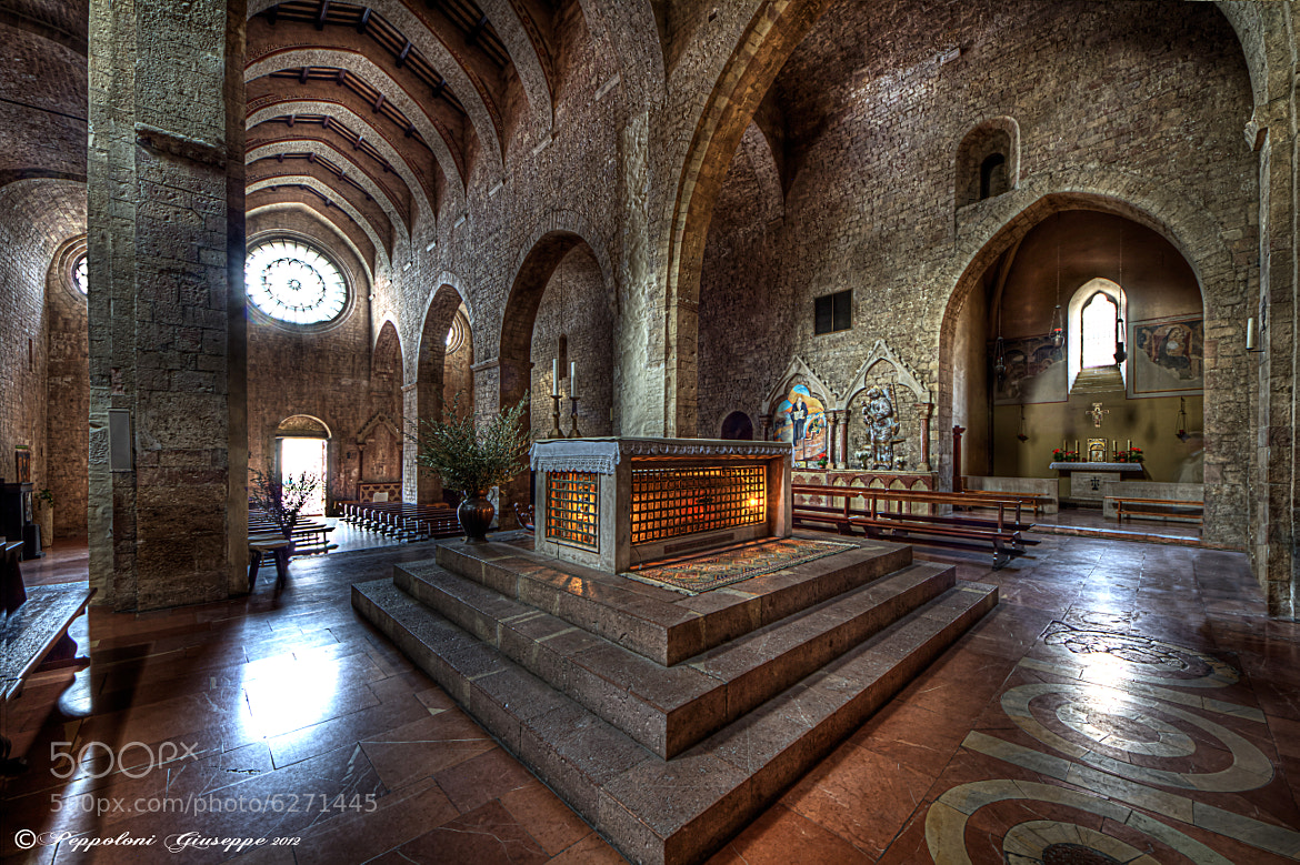Photograph Abbazia di San Pietro (PG) by Giuseppe  Peppoloni on 500px