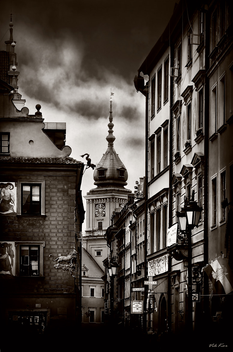Photograph Streets of the old Warsaw II by Viktor Korostynski on 500px