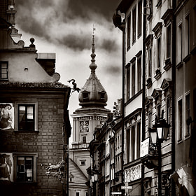 Streets of the old Warsaw II by Viktor Korostynski (vikkor)) on 500px.com