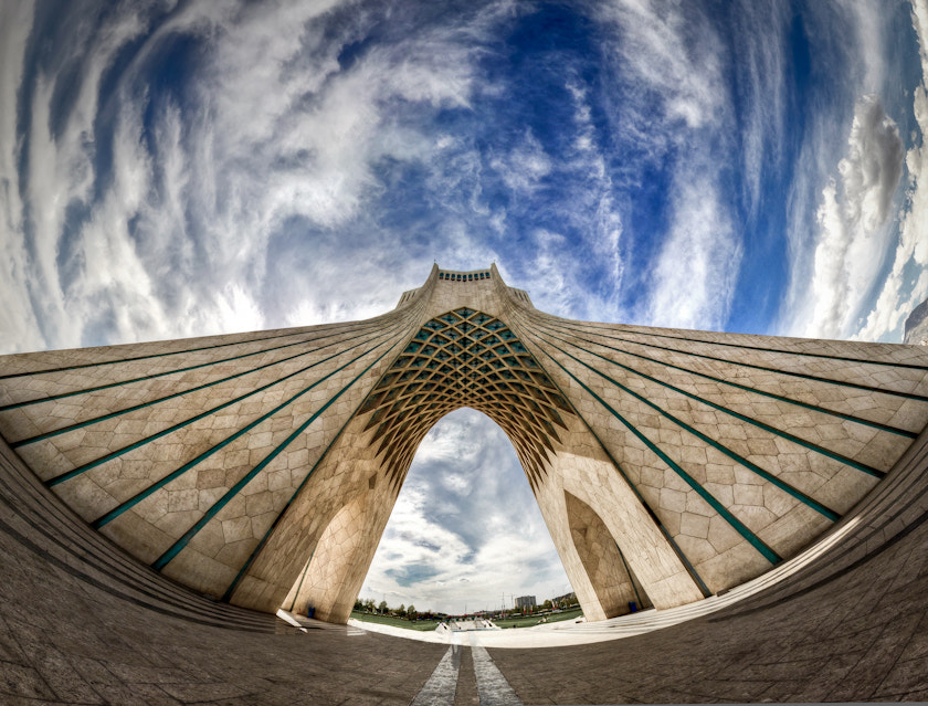 Photograph Azadi Tower by Mohammad Reza Domiri Ganji  on 500px