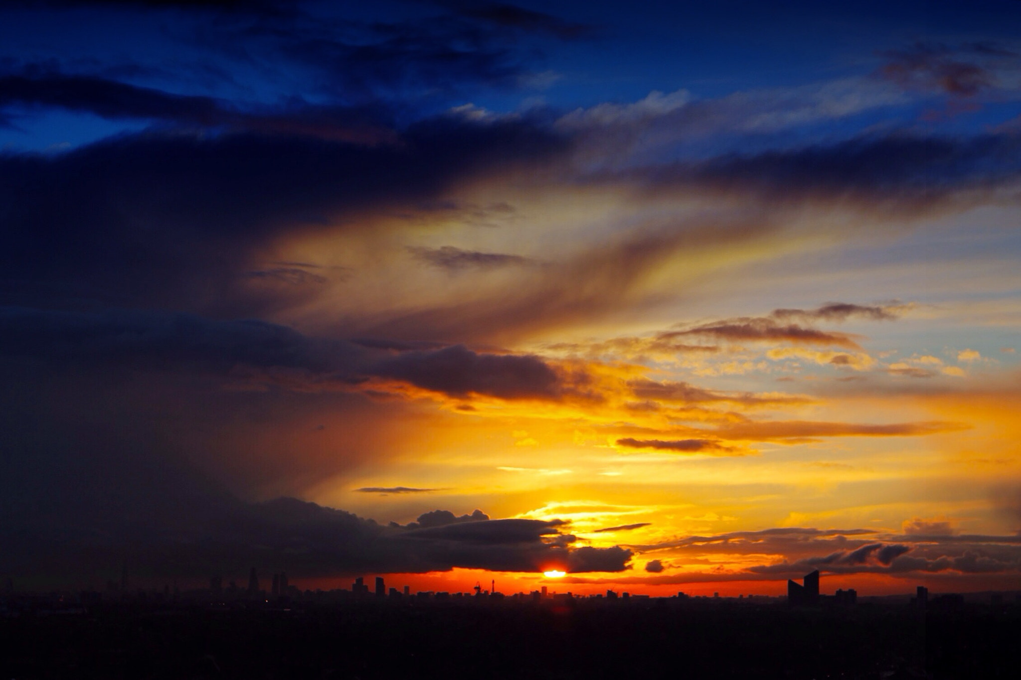 Photograph Londons' Big Sky by Mike Brandon on 500px