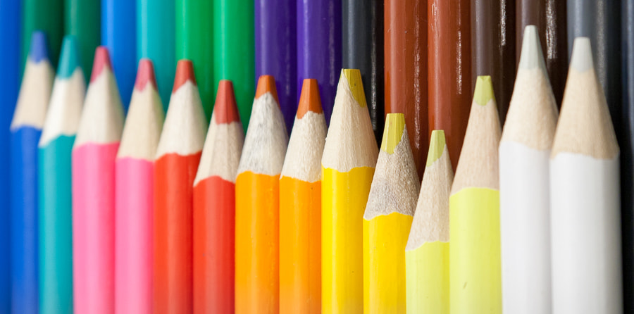 Photograph Coloured Pencils by Phil Turner on 500px