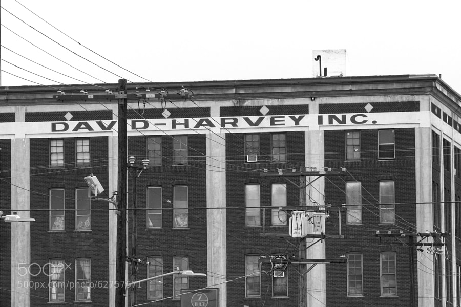 David-Harvey Inc. appears to be a business of the past.  The building is located in Downtown, Los Angeles.