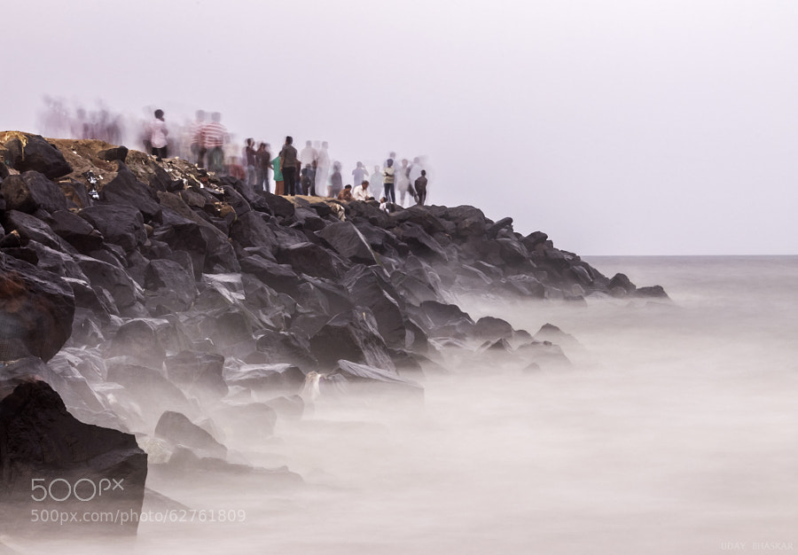 Photograph Rocks at Marina 2 by Uday Bhaskar Sharma on 500px