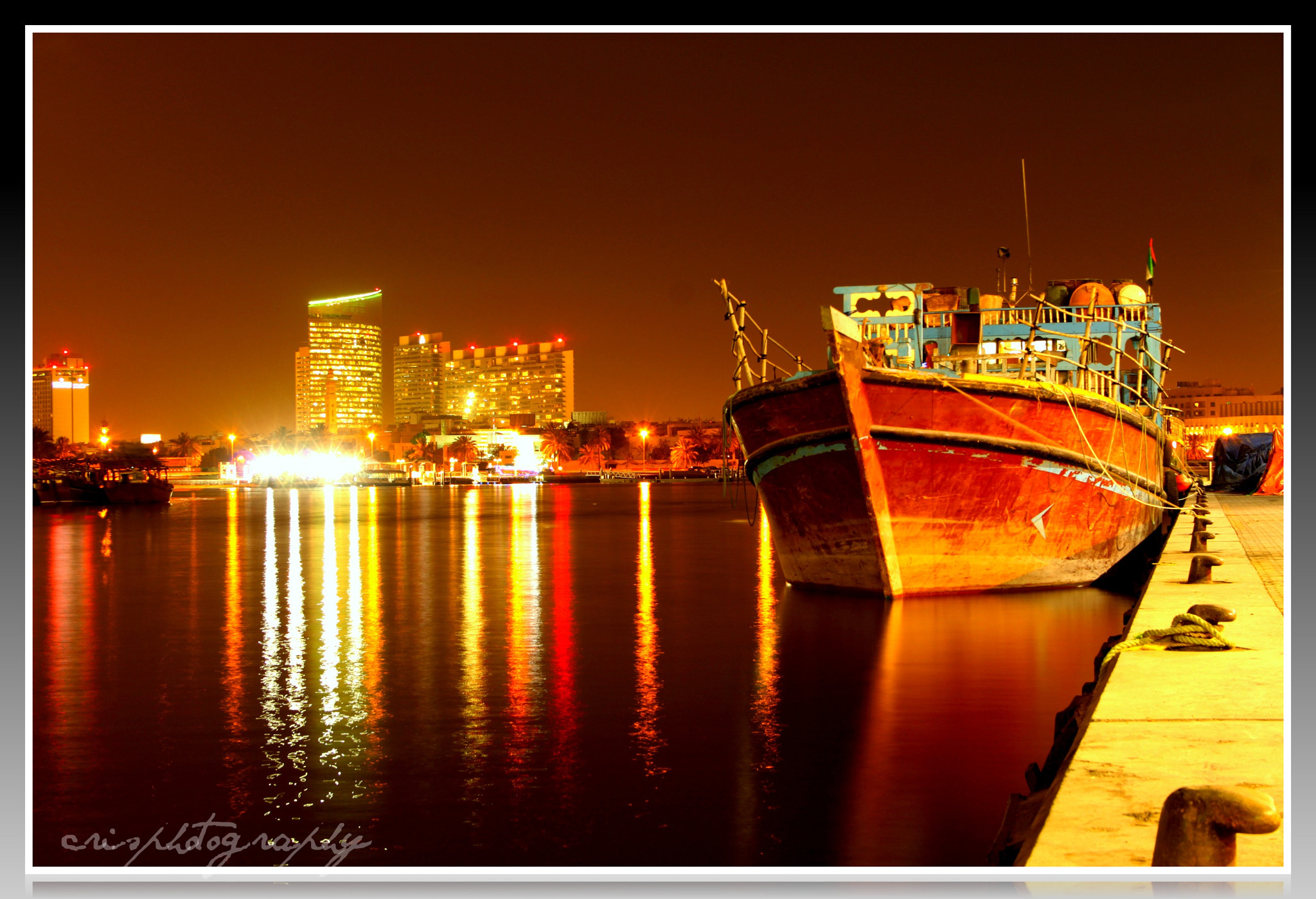 Photograph night boat by Cristeto Gutas on 500px