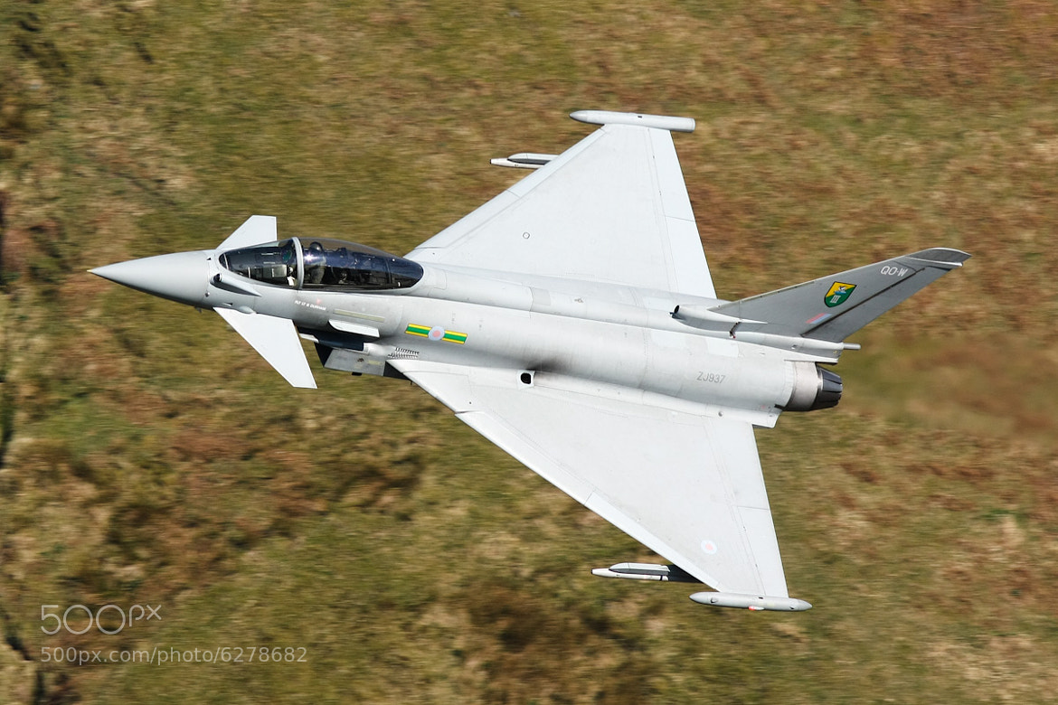 Photograph RAF Typhoon ZJ937 by Max Hawkins on 500px