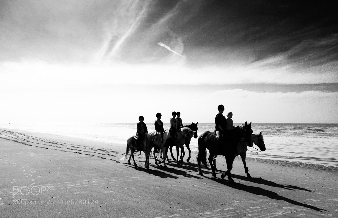 Photograph Seaside Riders by DOF Factory on 500px