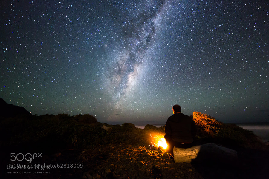 Photograph Camping Under The Stars by Mark Gee on 500px