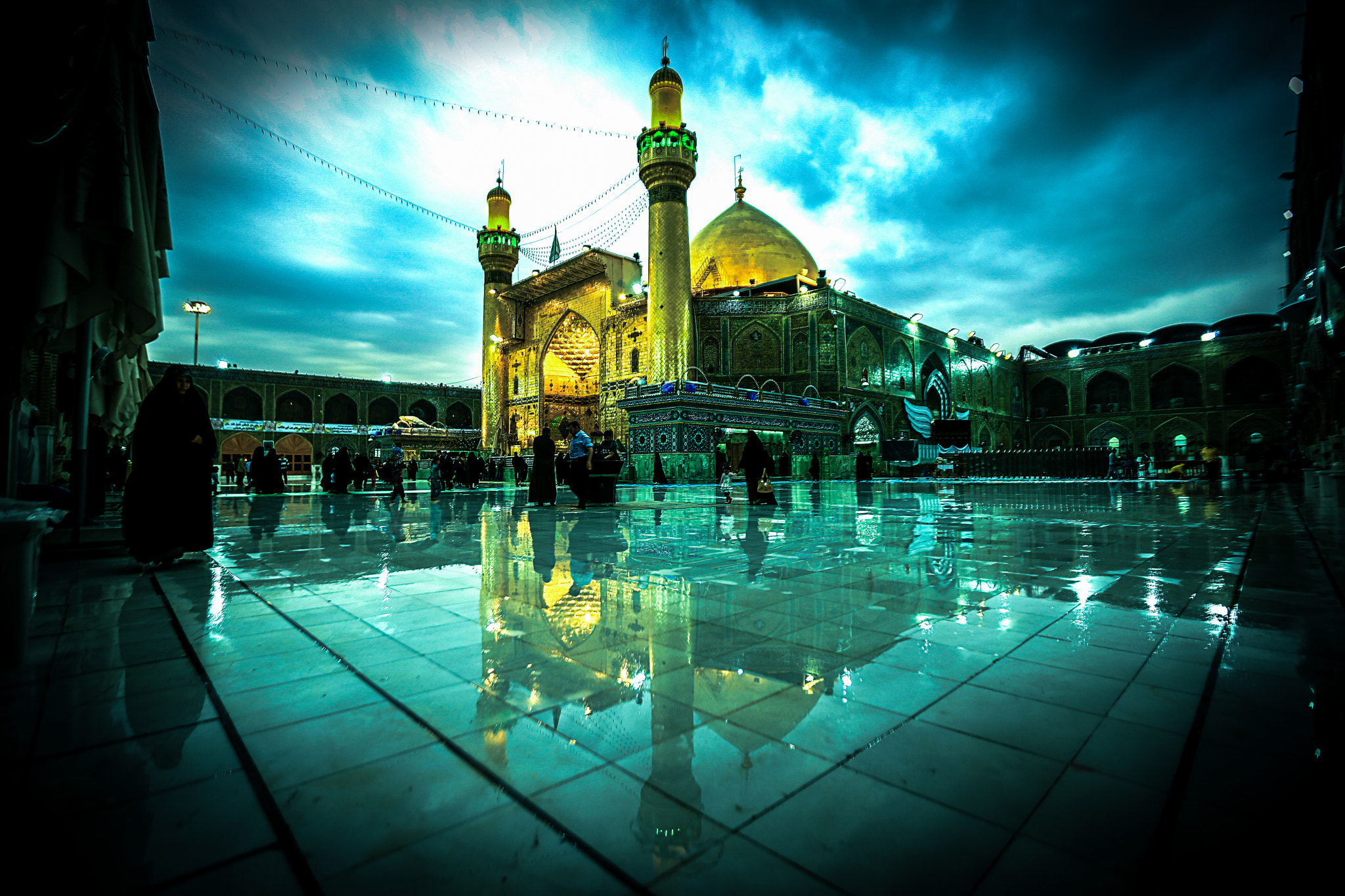 Maula Ali Shrine Wallpaper: Imam Ali Holy Shrine By Jwad. Al-Yasriy / 500px