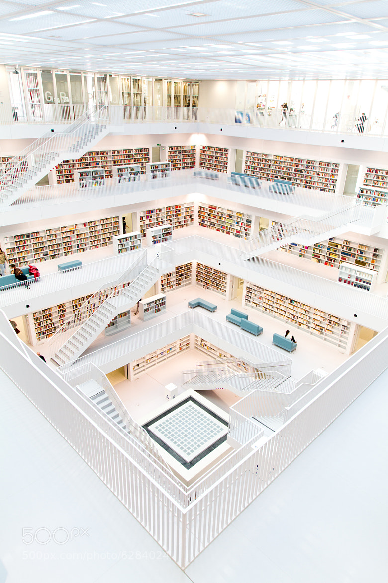 Photograph Stuttgarts New Public Library II by Dominik Gauss on 500px