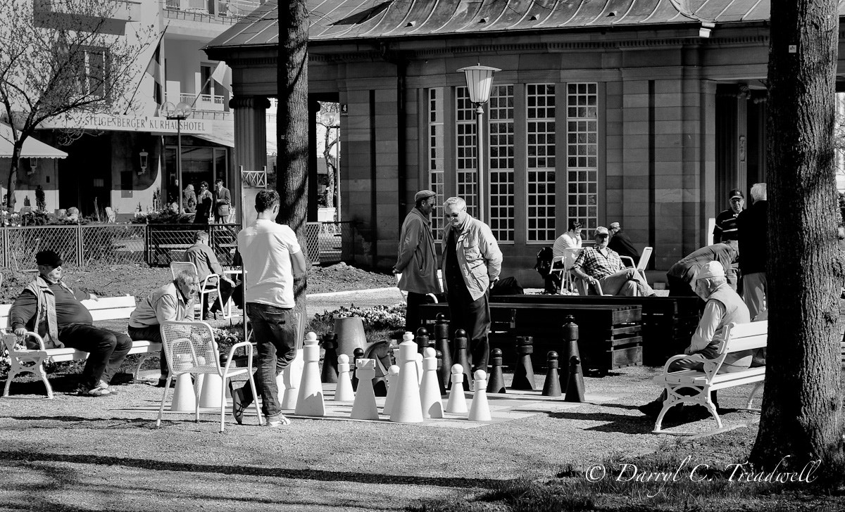 Photograph Chess in the Park 2 by Treadwell Images on 500px