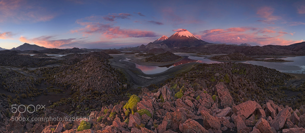 Photograph Los Payachatas by Mike Reyfman on 500px