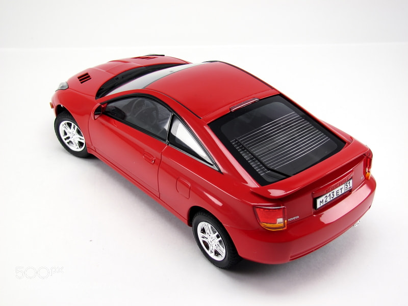 Toyota Celica GT scale: 1/24 tamiya / VM scale models
