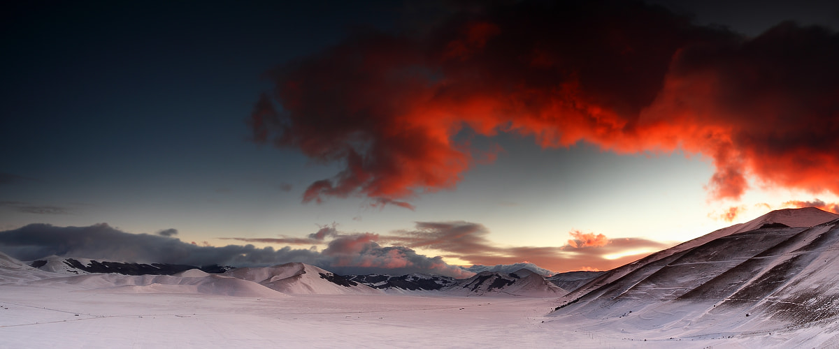 Photograph Red sunset by Paola Tarozzi on 500px