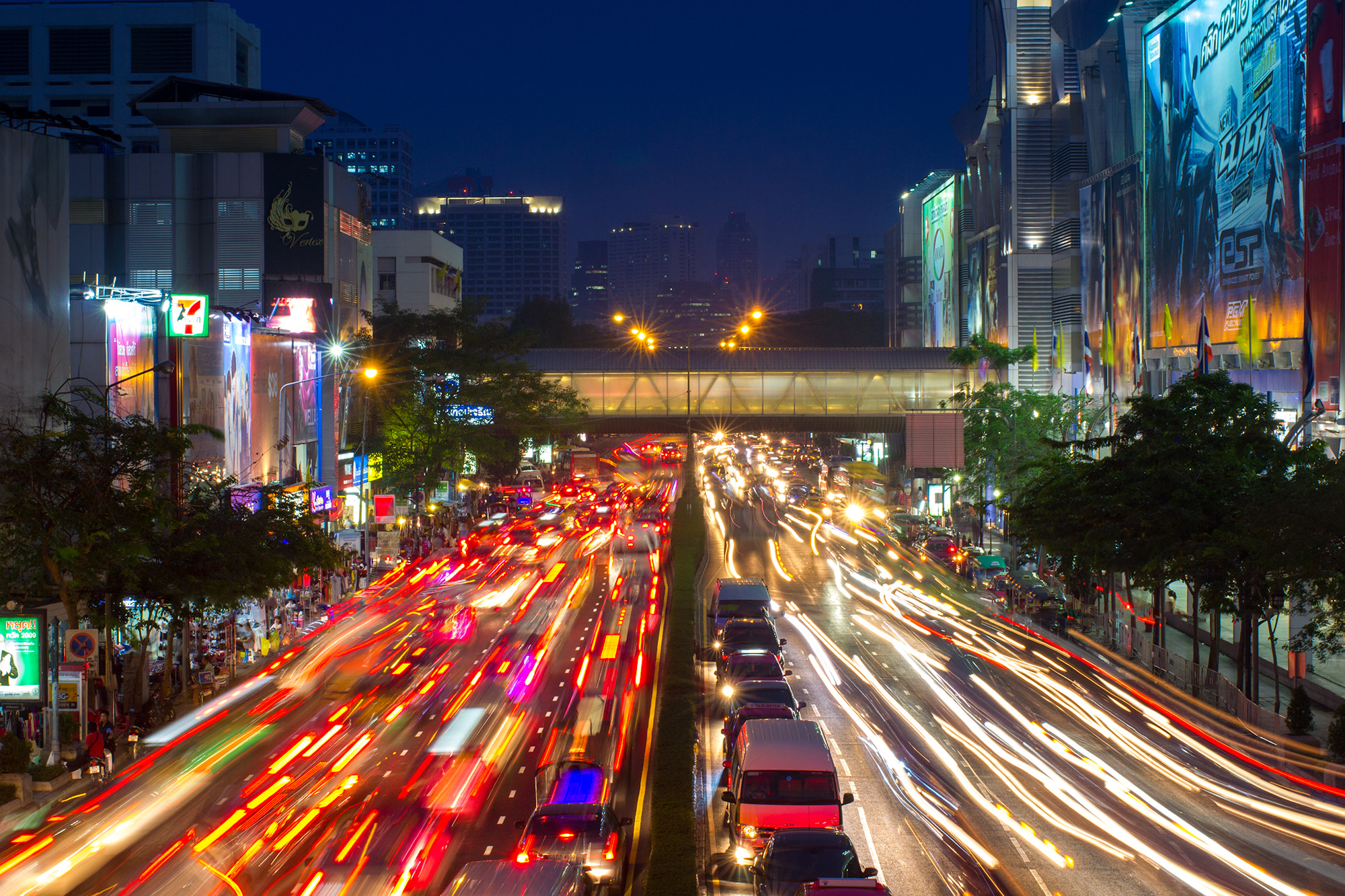 Photograph Bangkok Traffic by Mixrinho Suphamongkol on 500px