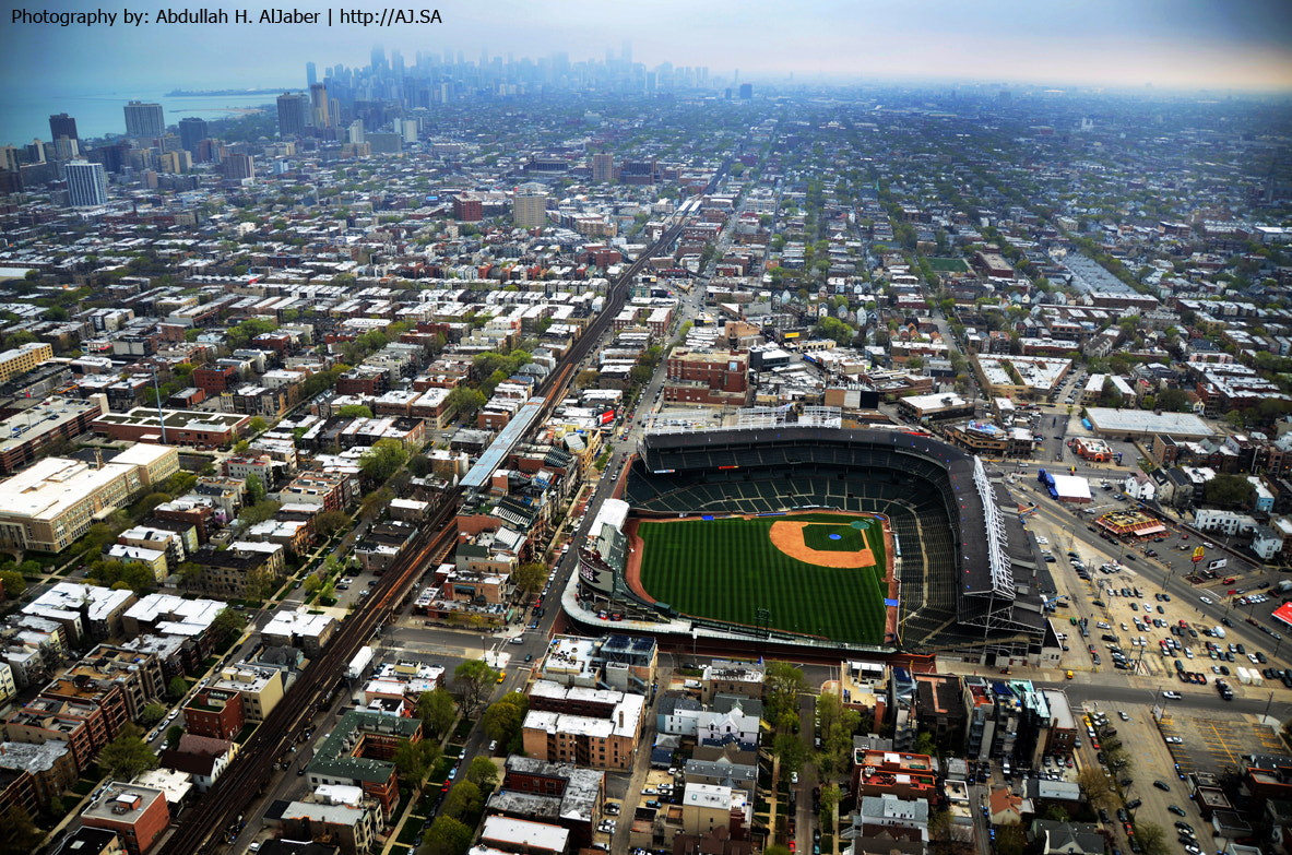 Photograph Wrigley Field Stadium - Chicago Cubs by Abdullah AlJaber on 500px