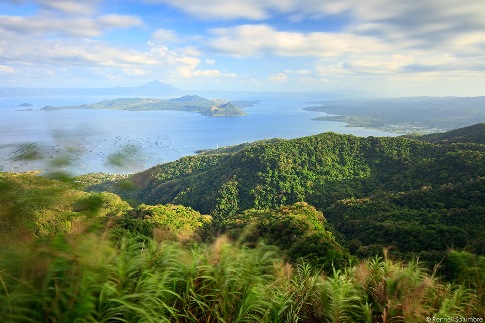 Photograph Overlooking Taal by Rennell Salumbre on 500px