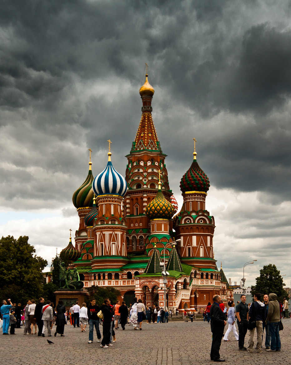 Photograph welcoming Moscow by Maxim Solodov on 500px