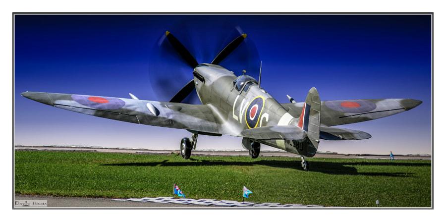 Spitfire Diorama