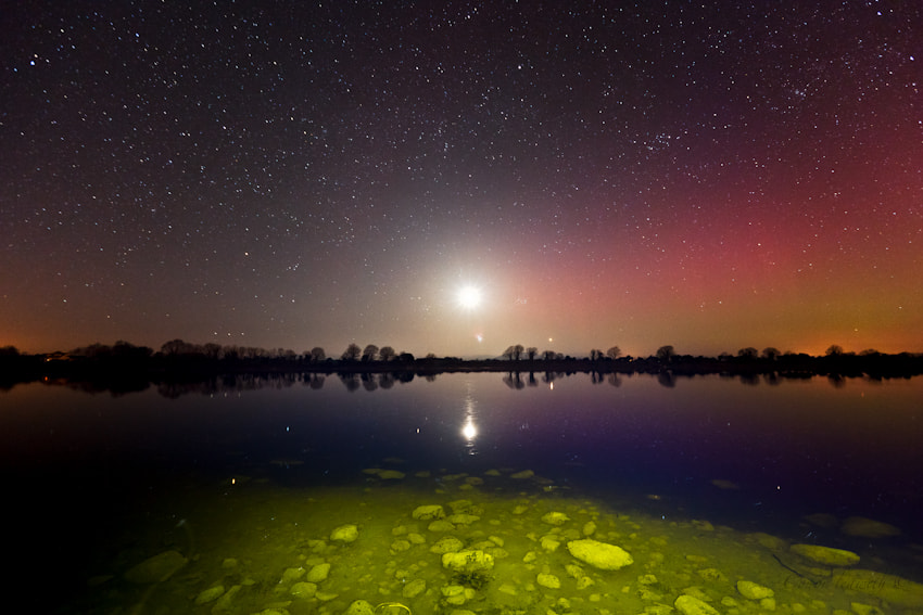 Photograph Aurora At The Corrib by conor ledwith on 500px