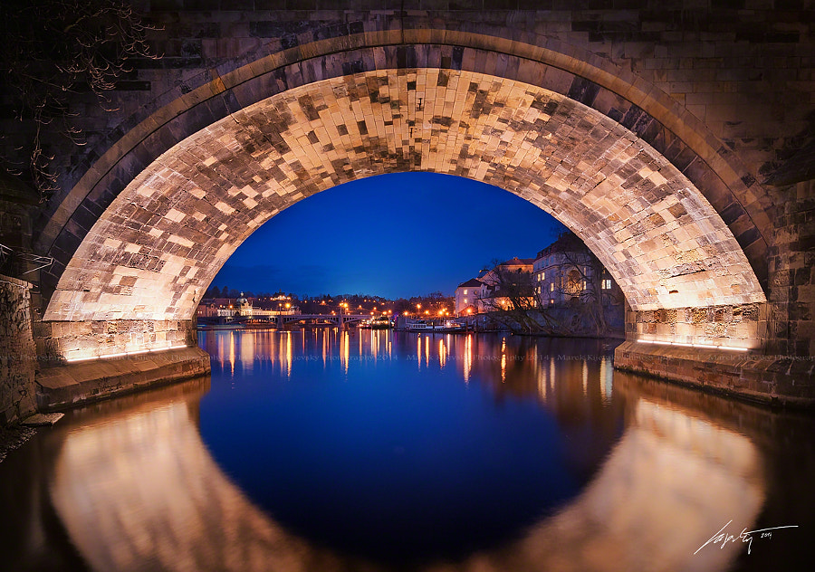 Under the Charles Bridge by Marek Kijevský on 500px.com