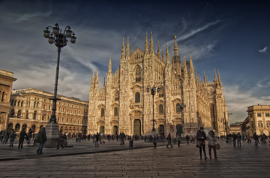 Duomo di Milano by Francesco Alamia on 500px.com