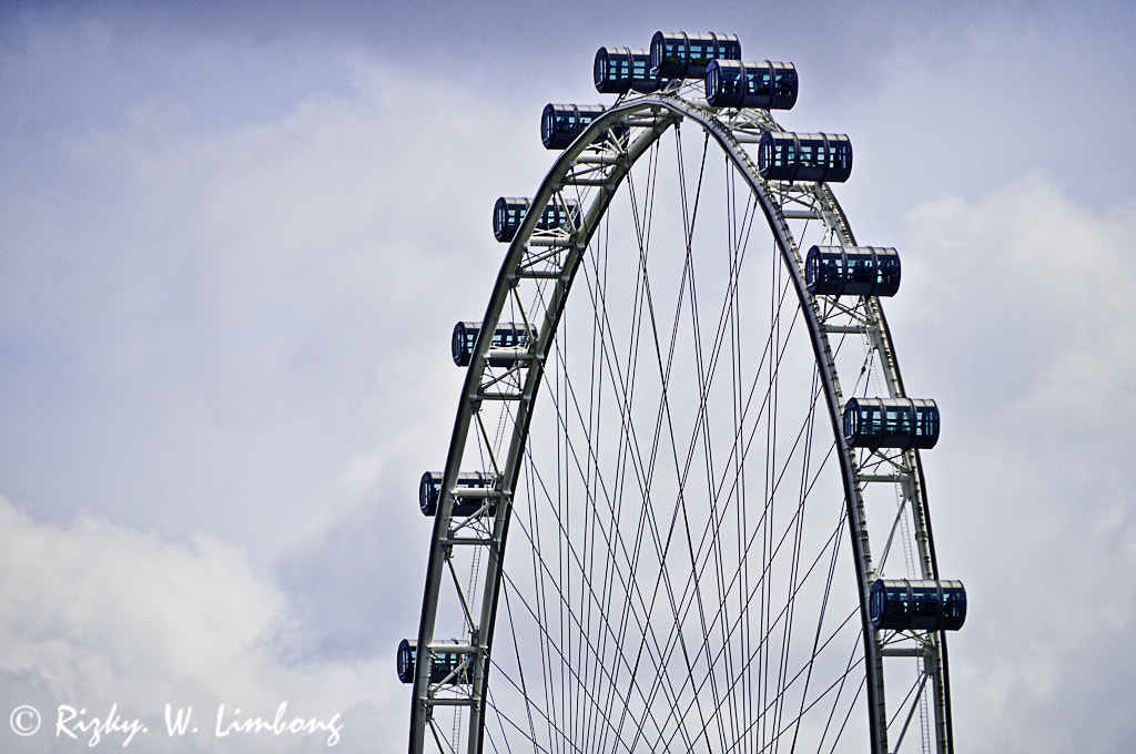 Photograph Singapore Flyer by Rizky. W. Limbong on 500px
