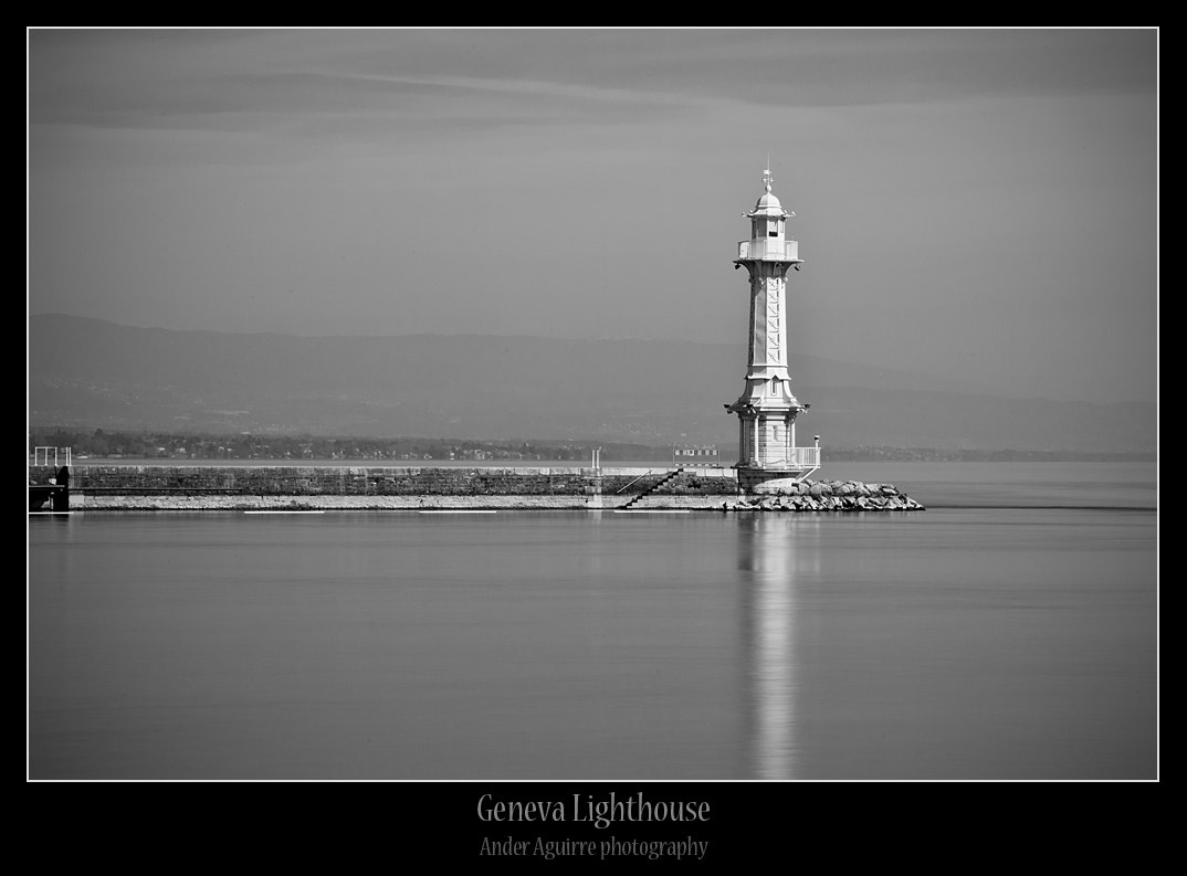 Photograph Geneva lighthouse by Ander Aguirre on 500px