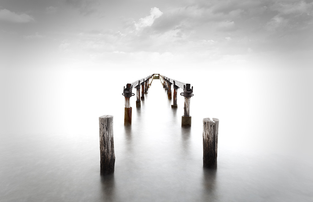 Photograph Infinite Pier by Marco Carmassi on 500px
