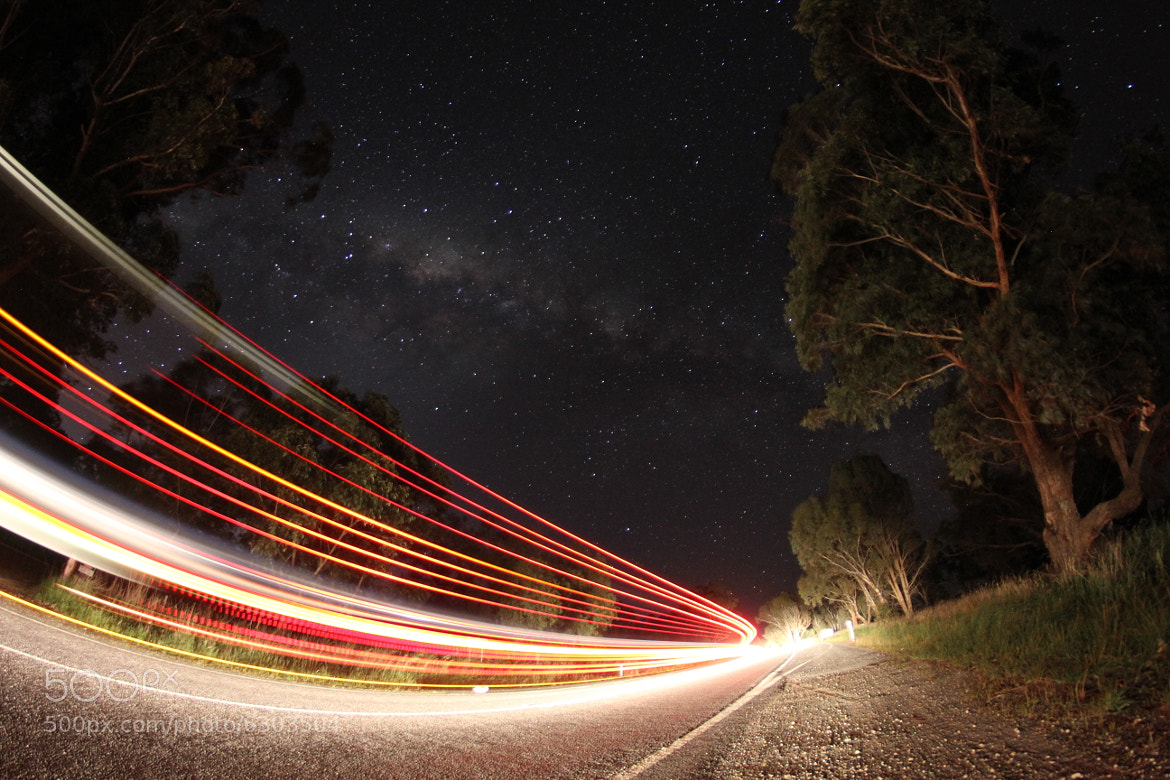 Photograph Star-Streaks by Daniel Johnson on 500px