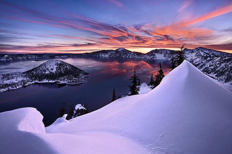 Photograph Crater Lake by Alan Howe on 500px