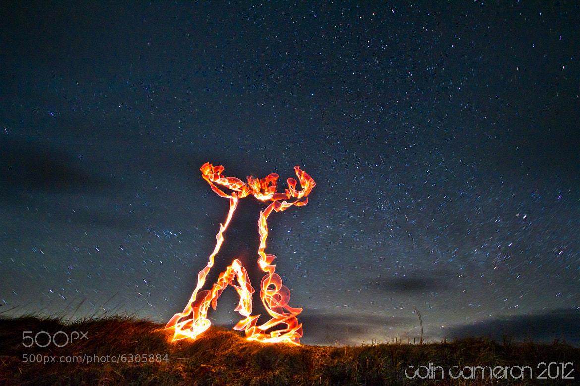Photograph Man of Fire by Colin Cameron on 500px