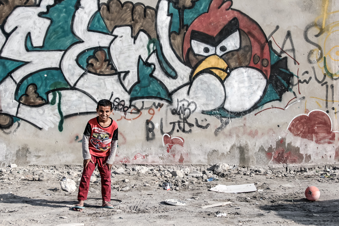 Photograph Happy Boy..Angry Bird by Mohamed Nageeb on 500px