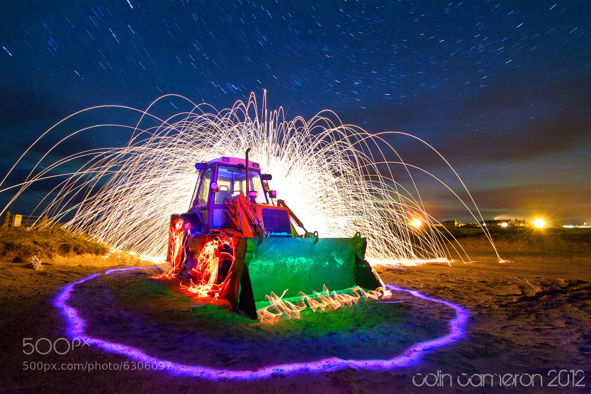 Photograph Flamin Digger revisited by Colin Cameron on 500px