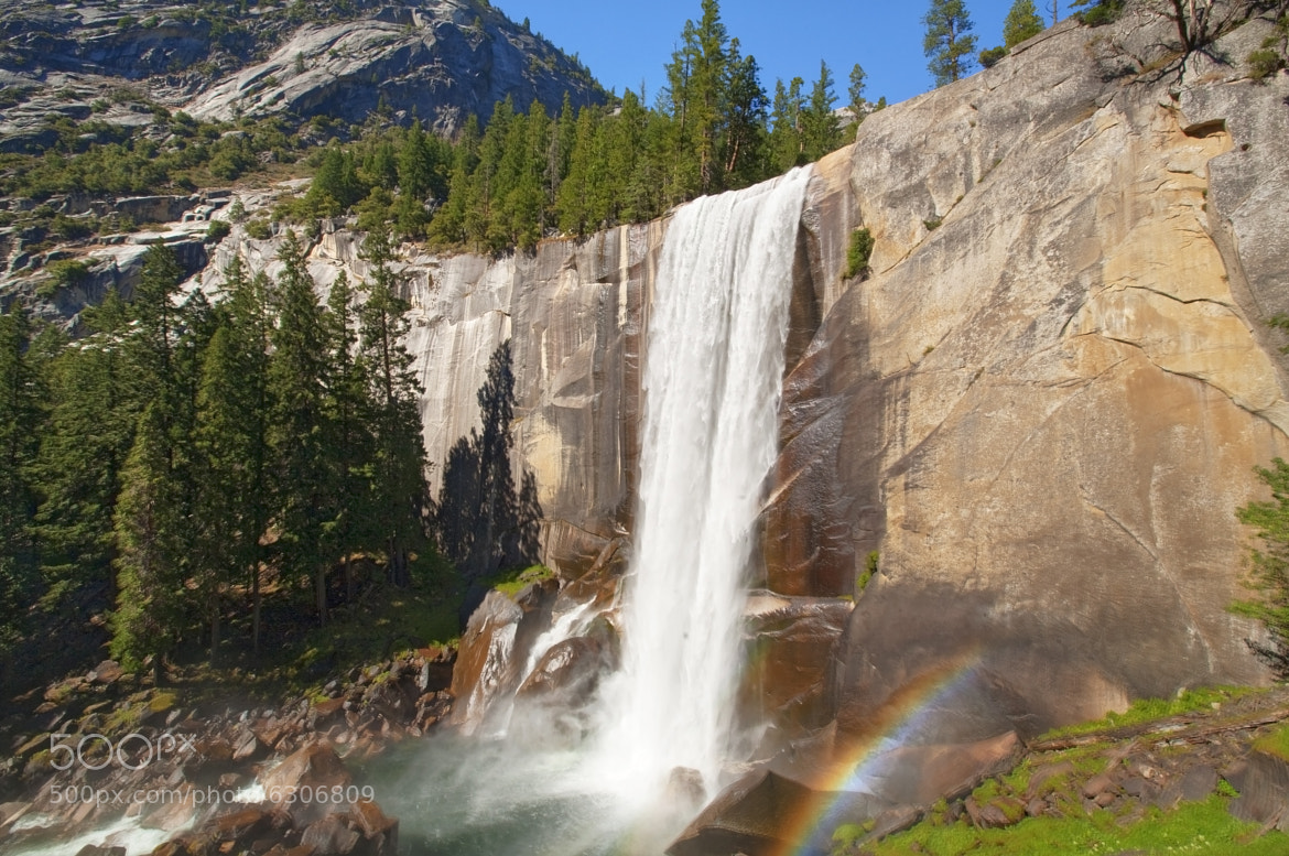 Photograph Nevada Fall by Vasilis Tsikkinis on 500px