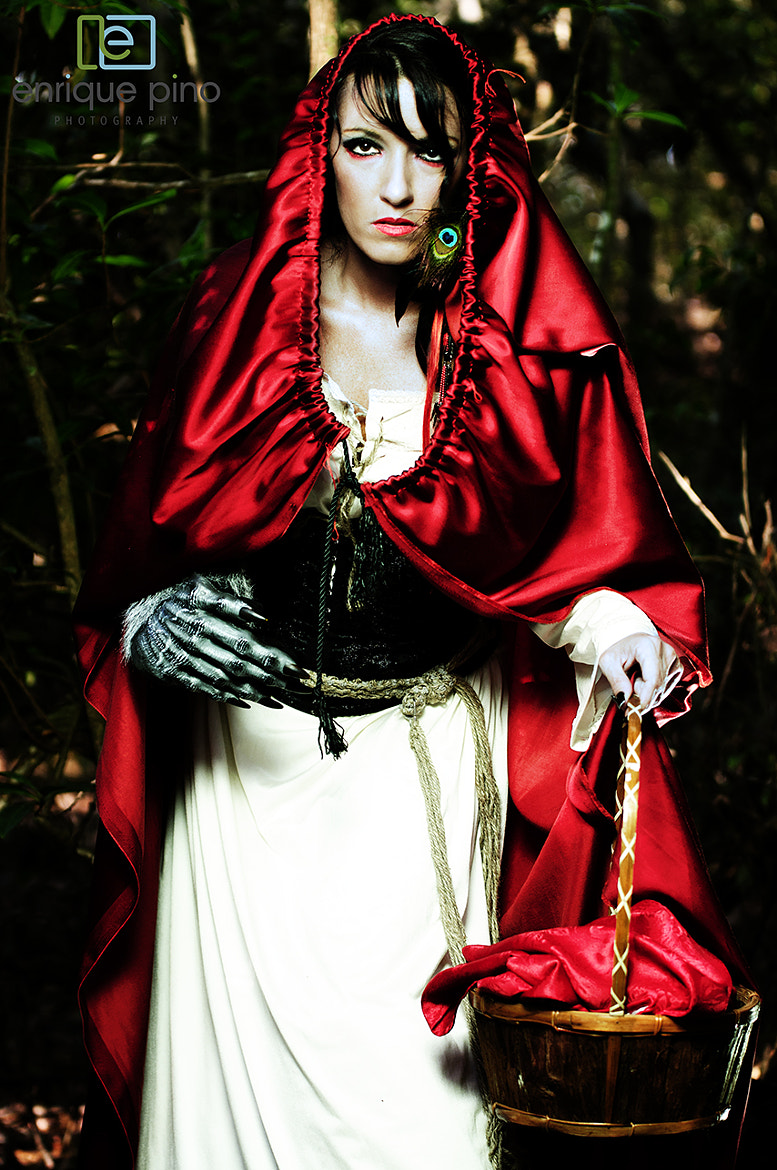 Photograph Dark Red Riding Hood by Enrique Pino's Photography on 500px