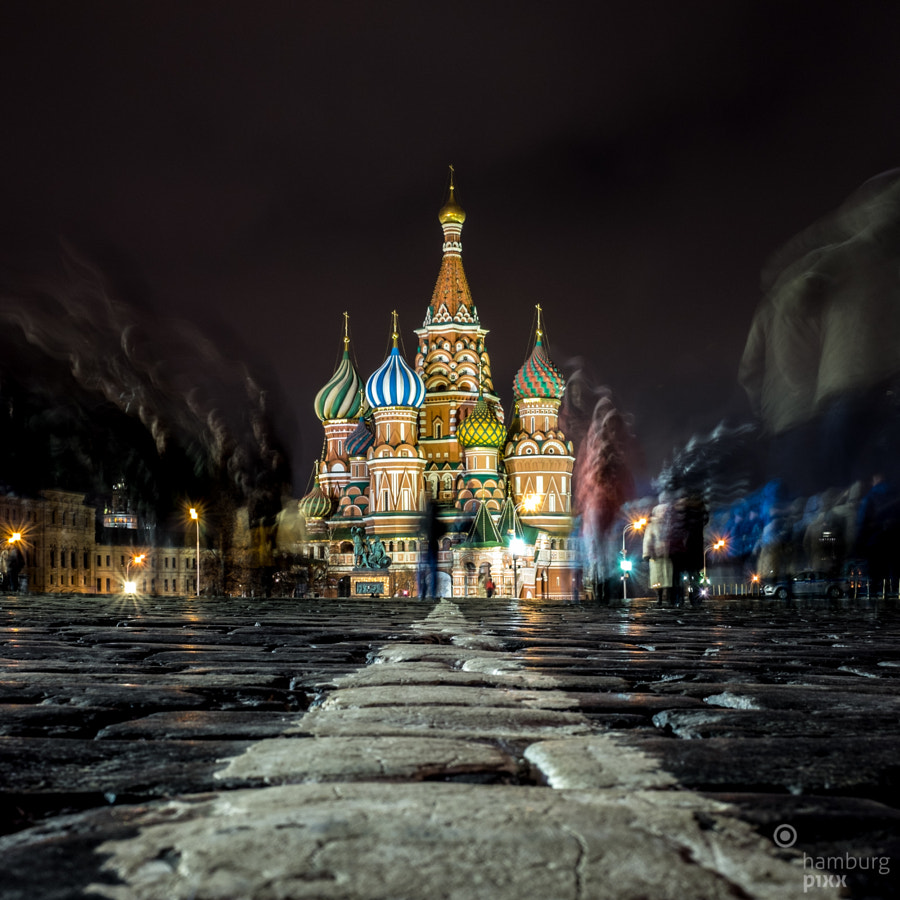Photograph St. Basil Cathedral, Moscow by Moritz Königsbüscher on 500px