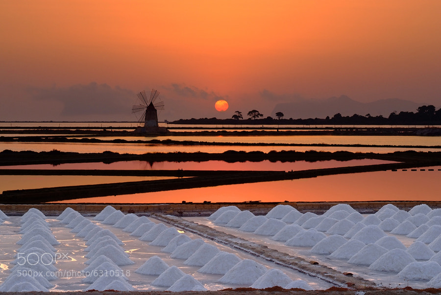 Photograph Saline Marsala by Aglioni Simone on 500px