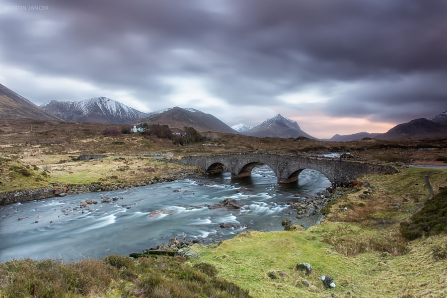 Old Sligachan Bridge by Martin Jancek on 500px.com