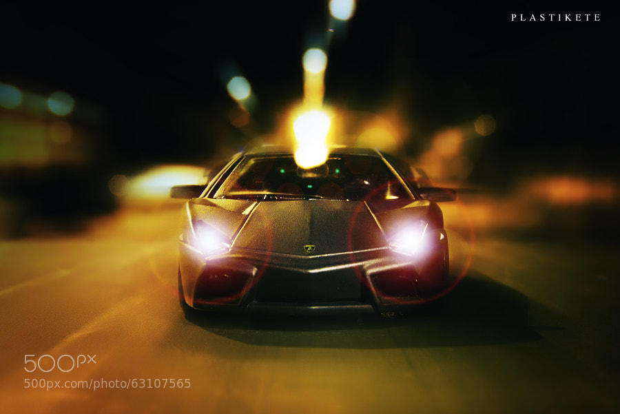 Photograph Lamborghini Reventon. My car on the street by Plastikete  on 500px
