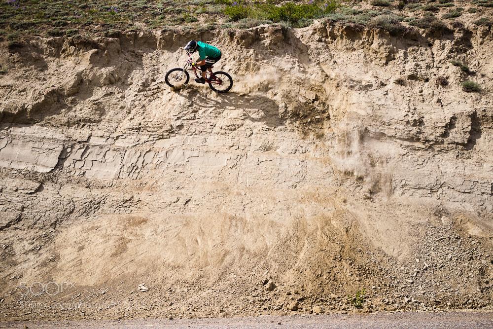Photograph Yukon Wallride by Dan Barham on 500px