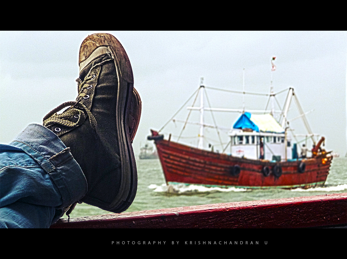 Photograph As the ship sails by.. by Krishnachandran U on 500px