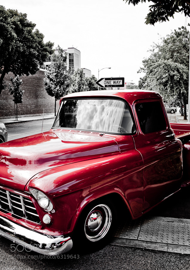 Photograph The Old Red Truck by Joseph Fronteras on 500px